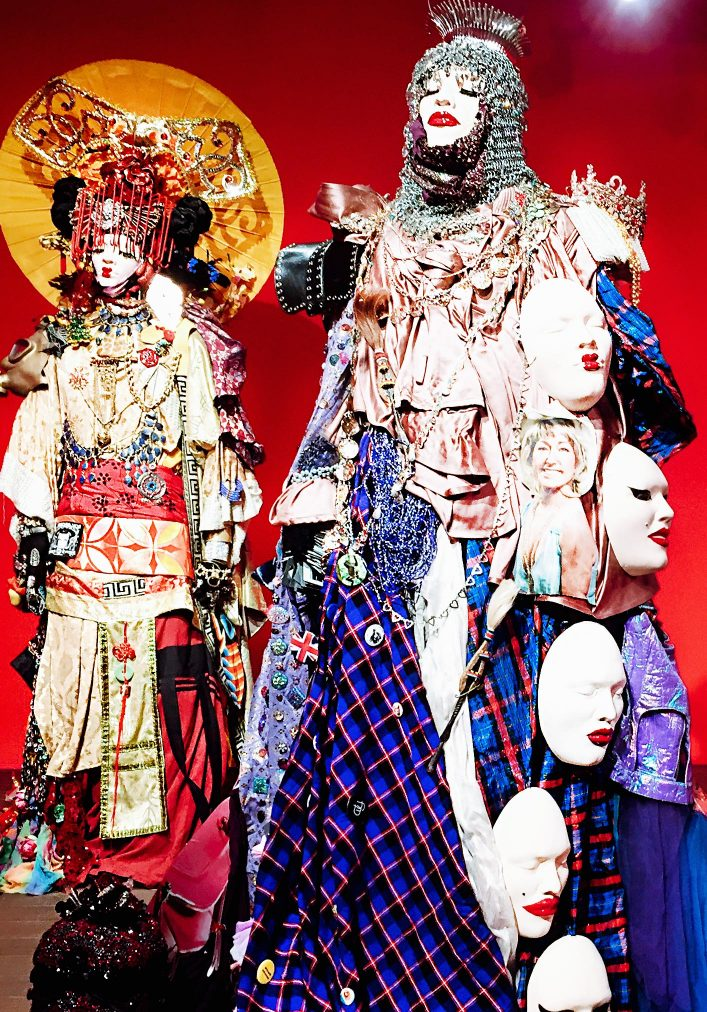 daniel lismore, japanese fashion sculpture