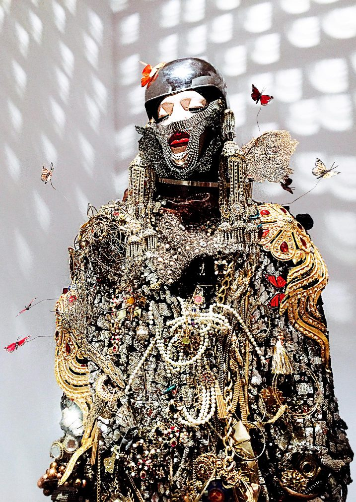 lismore golden fashion sculpture