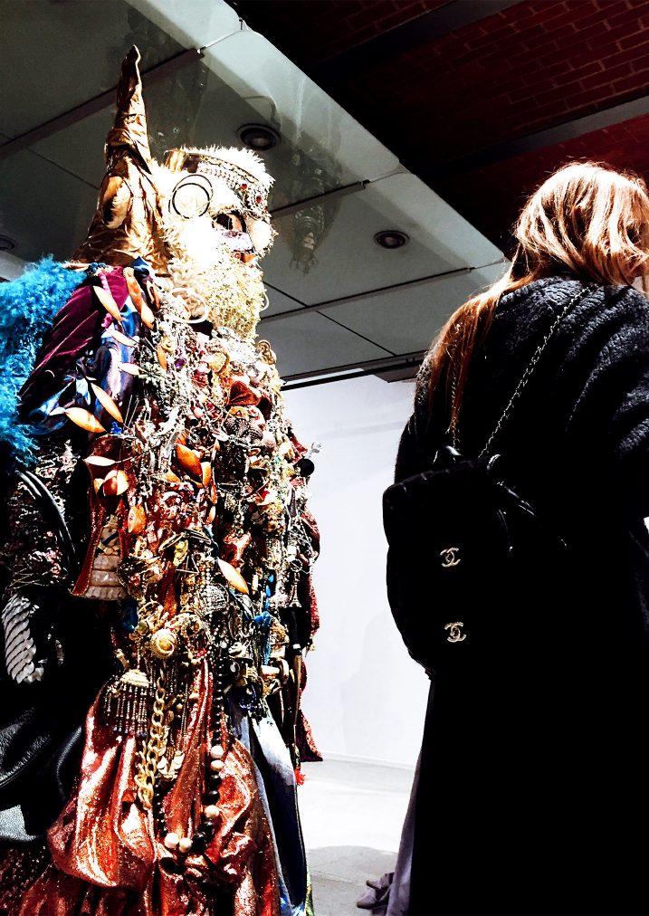 lismore sculpture, millennial girl wearing chanel