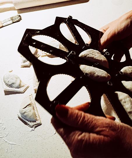 plastic pierogi cutter