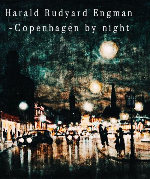 copenhagen at night painting