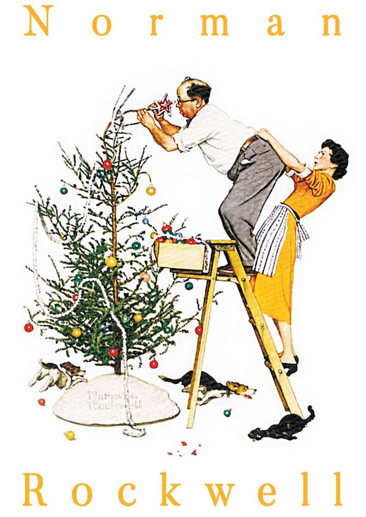 maymer 2020 christmas story and rockwell christmas tree poster