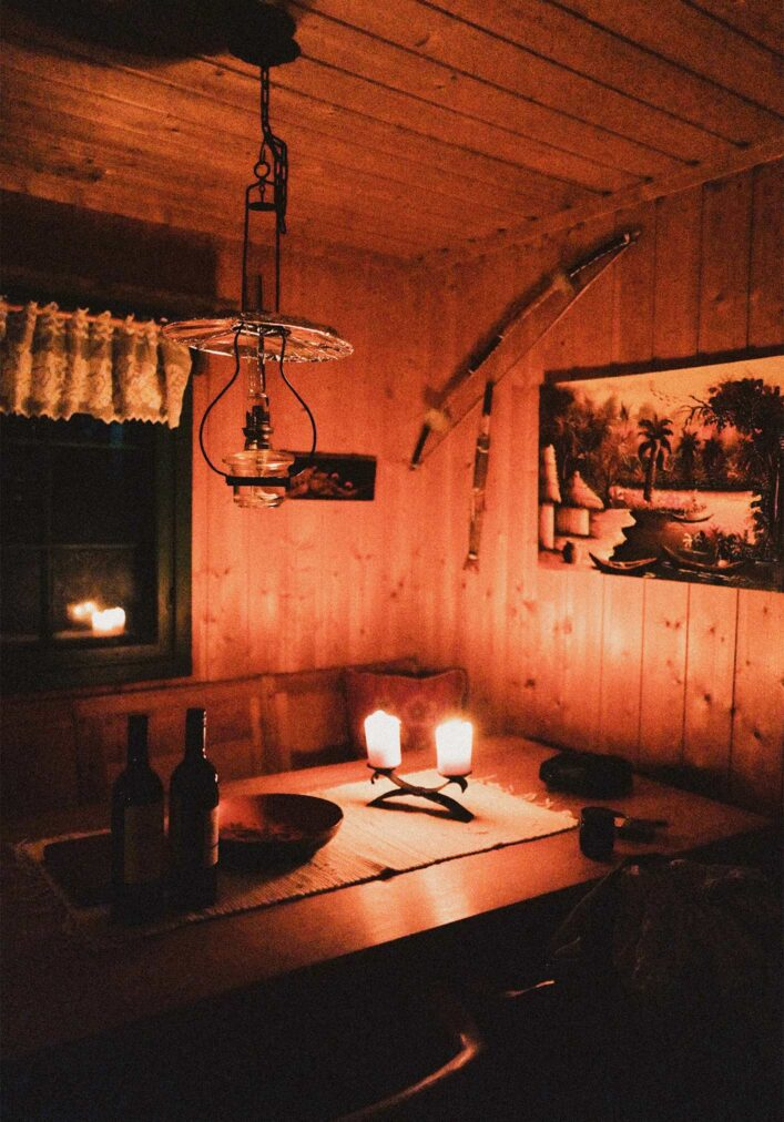 hytta dining area so called hytta kroken